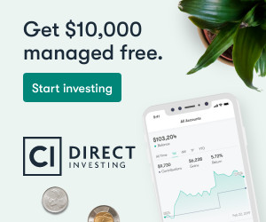 CI Direct Investing 10k managed free